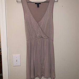 Tan dress
